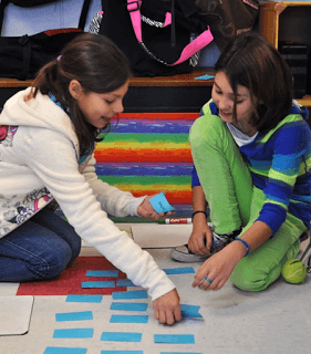 Math stations are a great way to reinforce and review skills from throughout the year!