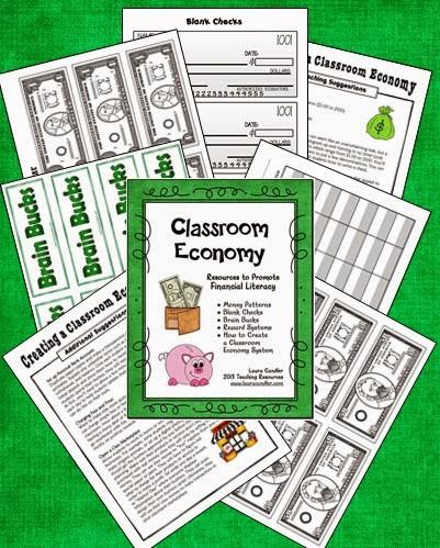 Classroom Economy Freebie