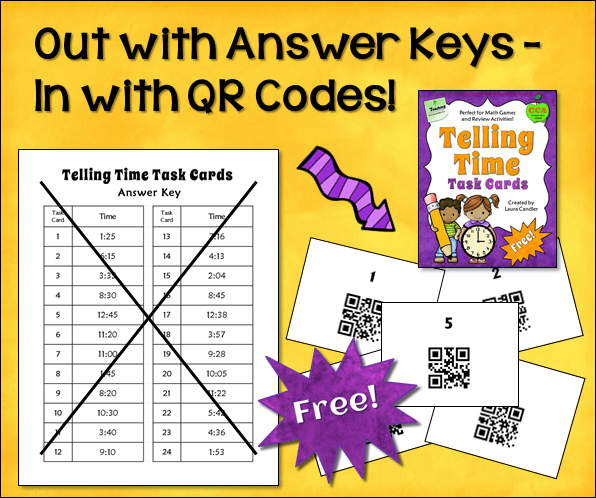 Out with Answer Keys – In with QR Codes!
