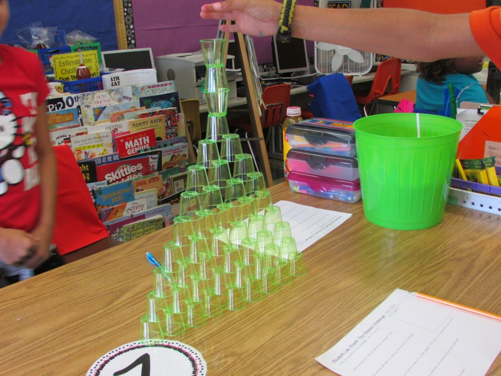 Creating The Tallest Cup Tower A Stem Challenge