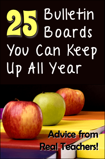 25 Bulletin Boards You Can Keep Up All Year
