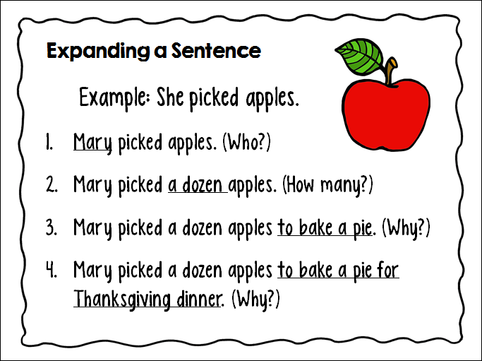 Teaching Kids How to Write Super Sentences