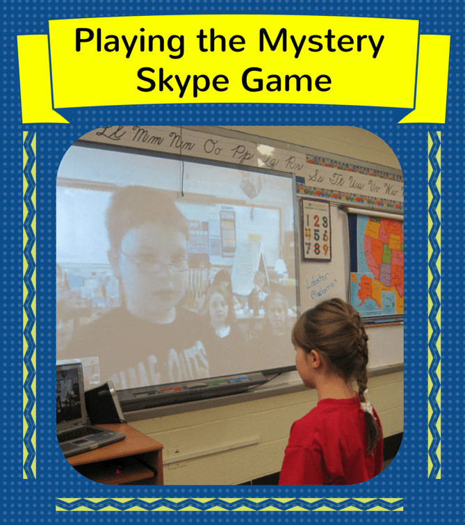 Play the Mystery Skype Game