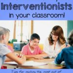 Do you have an interventionist in your classroom? Do you struggle with how to use him/her? Do you forget about them all together and then either send them away or give them something not very meaningful to do? If so, this post is for you! You'll pick up some great tips and a free set of Small Group Planning Sheets!