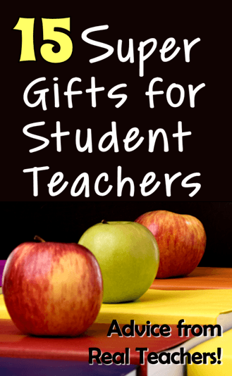 15 super gifts for student teachers