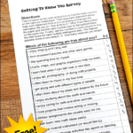 Learn how to use multiple intelligence theory and growth mindset together to motivate your students to become lifelong learners! Use this free MI Survey for Kids from Laura Candler to help you get started!