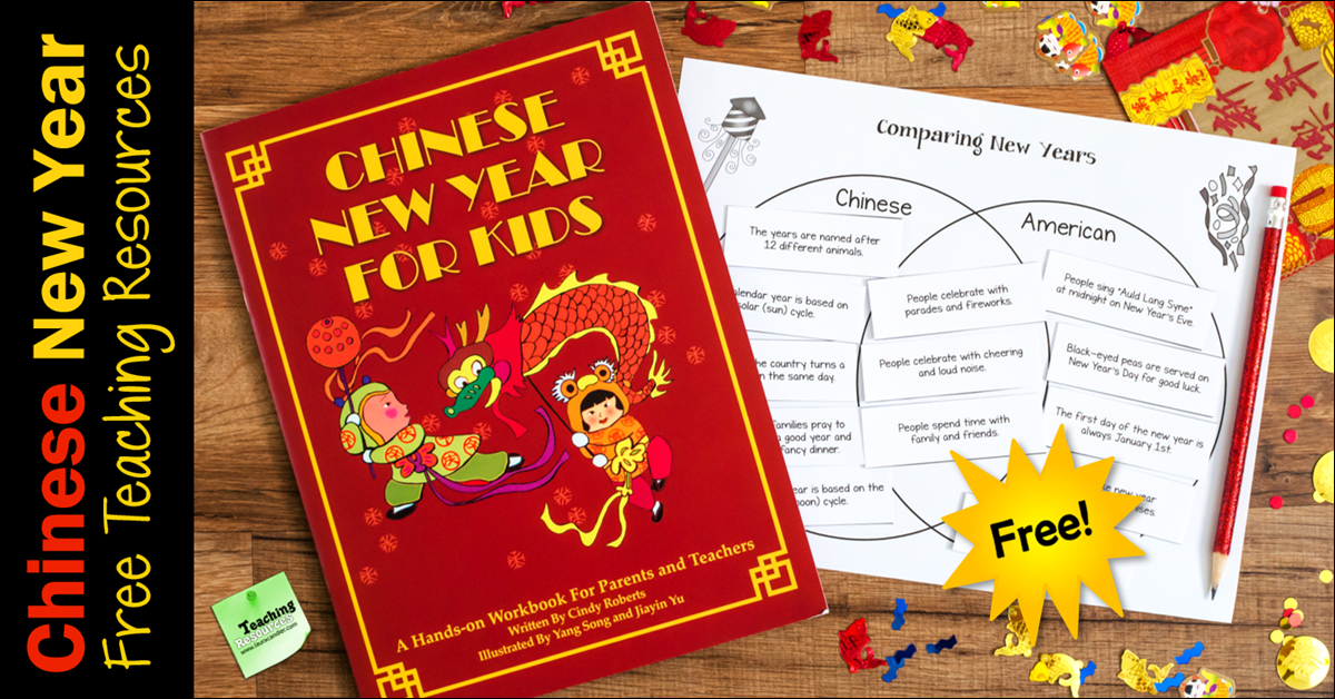 Chinese New Year Traditions: Free Teaching Resources