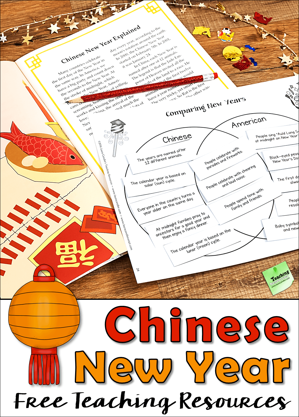 Free Chinese New Year Teaching Resources