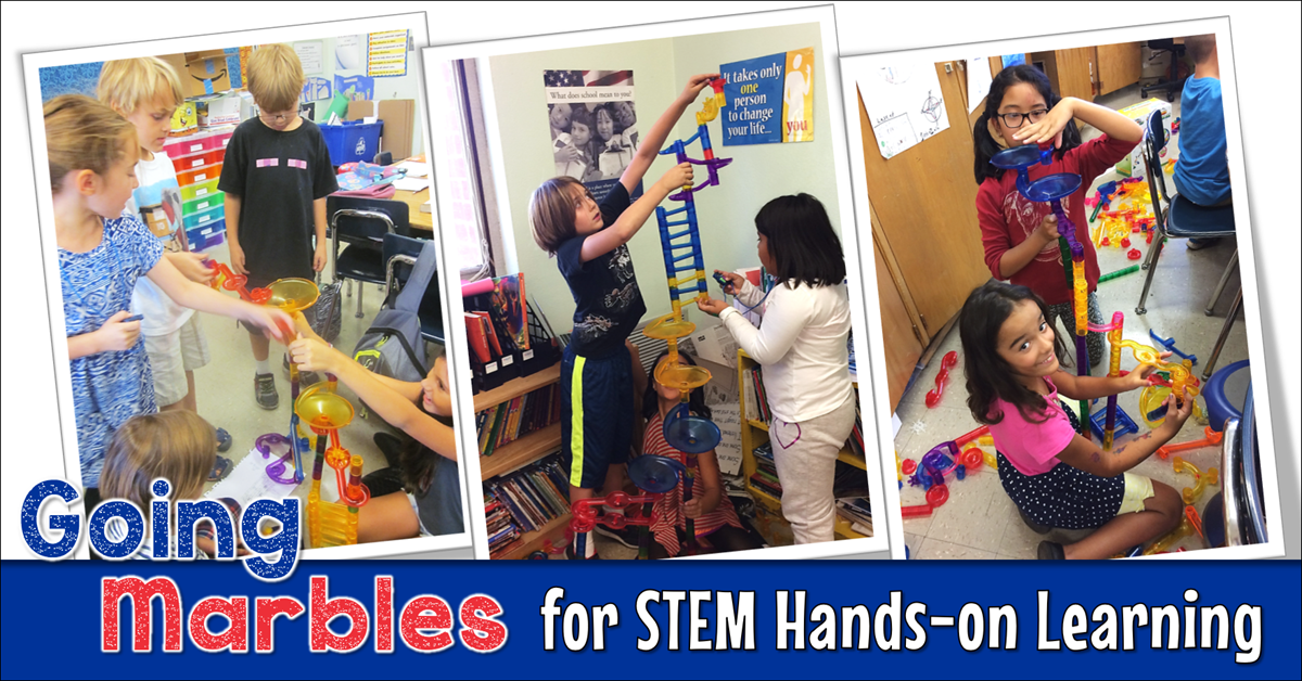 Going Marbles for STEM Hands-on Learning