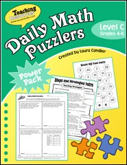 Daily Math Puzzlers Level C