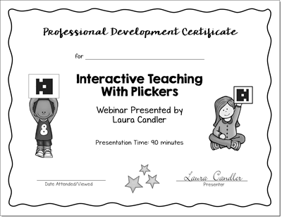 How to Launch a Super School Year PD Certificate