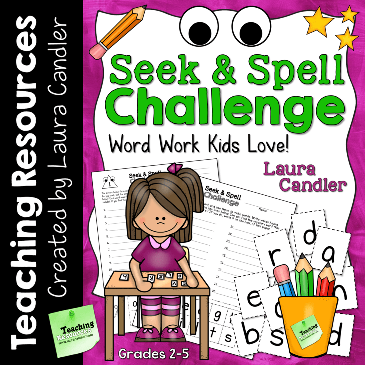 seek and spell challenge
