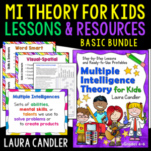 Multiple Intelligence Theory for Kids Basic Bundle