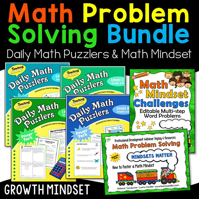 Math Vocabulary Building Bundle