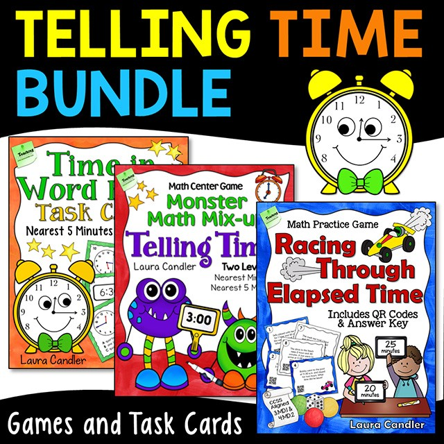 Laura Candler's Multiplication Files for Teachers and Their
