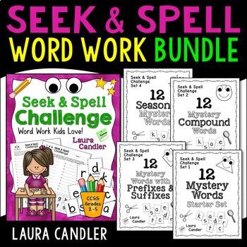 Seek and Spell Challenge Word Work
