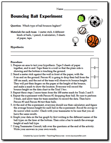 Bouncing Ball Experiment