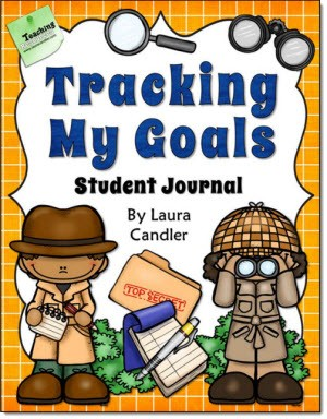 Tracking My Goals Student Journal