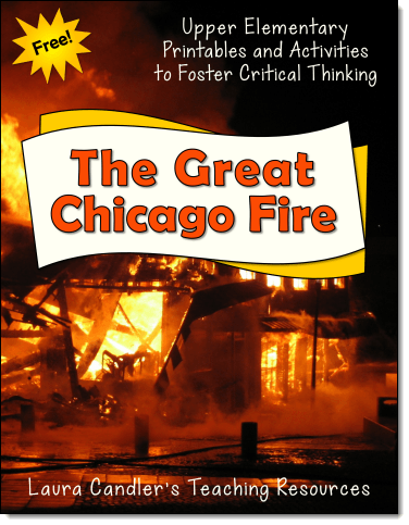 Great Chicago Fire: Free Resources for Upper Elementary Students