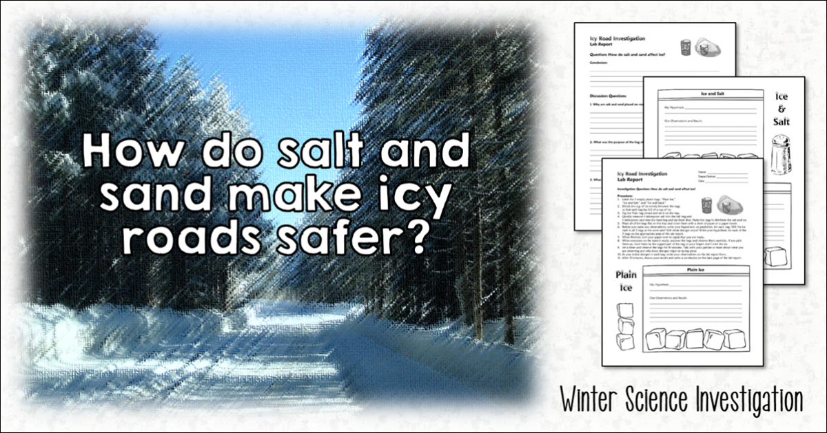Investigating How to Make Icy Roads Safer