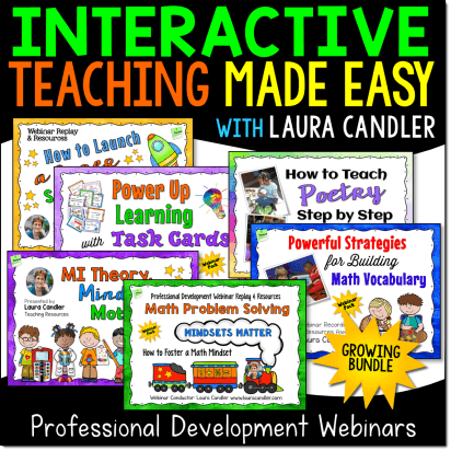 Interactive Teaching Made Easy Webinars Growing Bundle