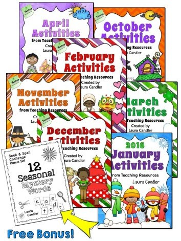 Seasonal Activities Bundle