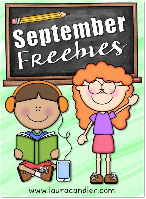 Check out the September freebies and resources in Laura Candler's online file cabinet!
