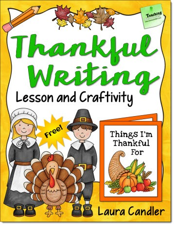 Thankful Writing Freebie