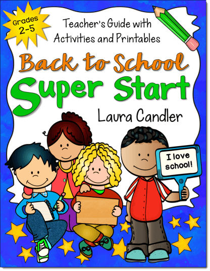 Back to School Super Start Book