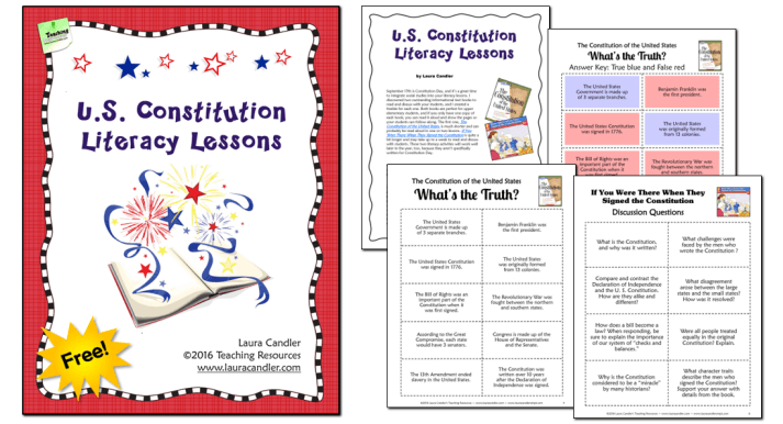 US Constitution Day Freebie