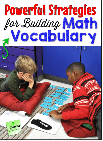 Math Vocabulary Webinar Resources