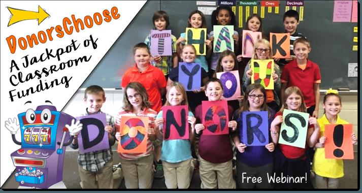 DonorsChoose Webinar Sign Up