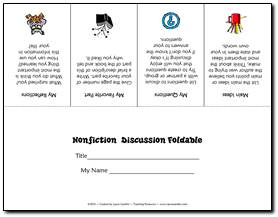 Free Printables For Literature Circles