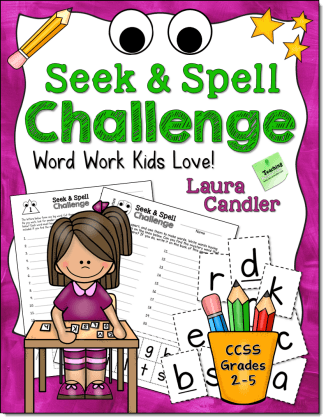Seek & Spell Challenge by Laura Candler