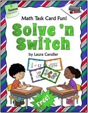 Solve 'n Switch Free Cooperative Learning Activity