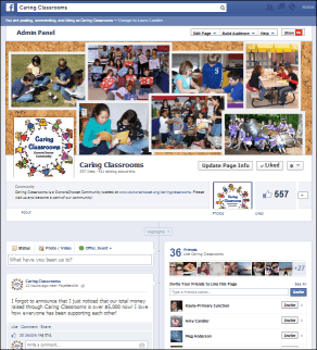 Caring Classrooms on Facebook