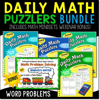 Math Problem Solving Bundle