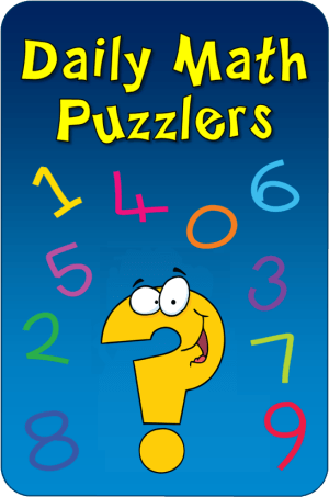 Daily Math Puzzler Program from Laura Candler
