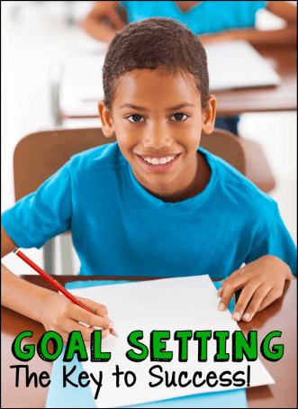 Classroom Goal Setting - The Key to Success! Teach your students how to set specific goals and track their progress towards those goals. Empowering!
