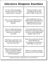 photo relating to Printable Book Club Questions referred to as Free of charge Printables for Literature Circles