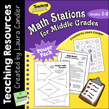 Laura Candler S Teaching Resources Math Centers And Stations