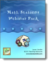 Math Stations Webinar Pack