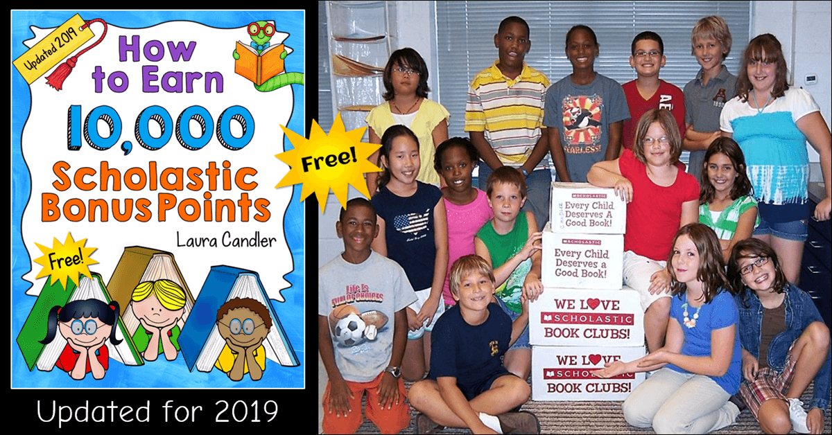 How to Earn 10,000 Scholastic Bonus Points (or More!)