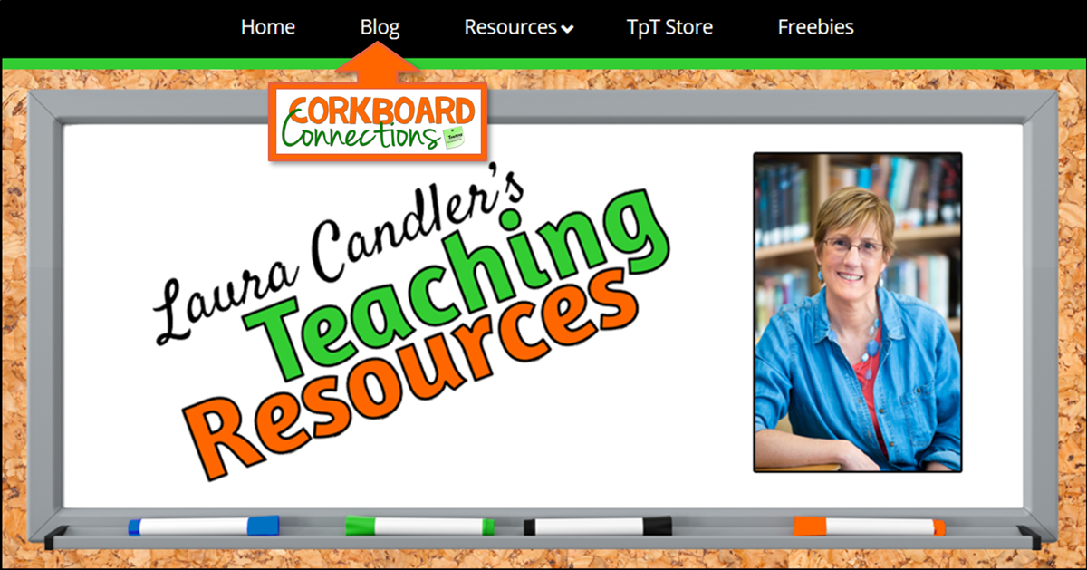 Corkboard Connections Blog Now on Teaching Resources