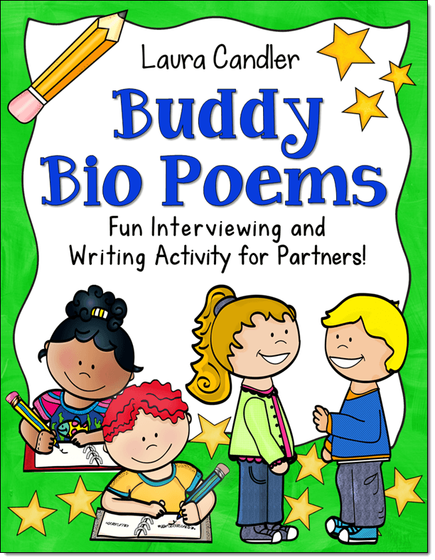 Buddy Bio Poems Lesson from Laura Candler