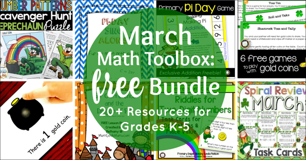Free March Math Toolbox
