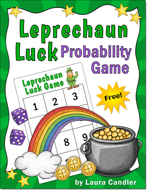 Leprechaun Luck Probability Game Freebie