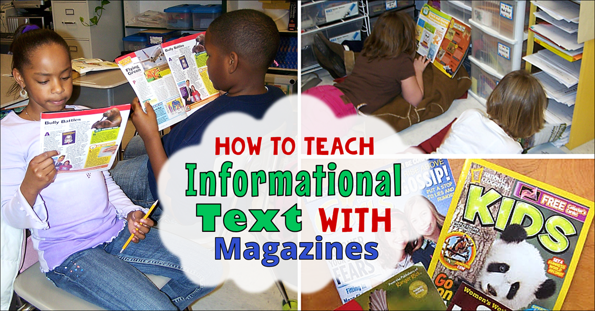 Teaching Informational Text with Magazines
